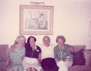 The three Midas sisters with Harry Weilheimer