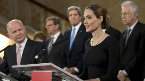 Angelina Jolie Wartime rape
