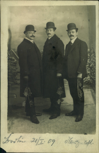 On the left, Bill's grandfather, Lothar Midas. On the far right, Lothar's brother, Joseph.