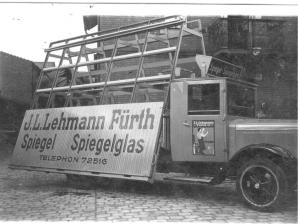 An E.L.Lehman truck from the glass factory, owned by Bill's maternal grandfather with his brother, before it was forcibly confiscated by the Nazis.