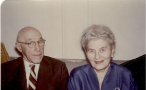 Bill Maternal Grandparents: Sophie and Lothar Midas