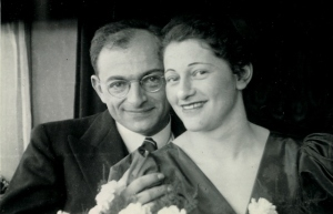 Bill's Uncle Max and Aunt Hilde Dreifuss