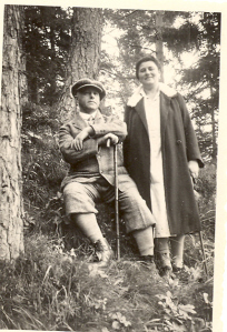 Bill's Maternal Grandparents: Sophie and Lothar Midas