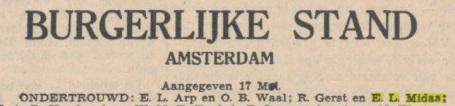 RobertGerst,ElisabethMidas,ondertrouw,17May1938