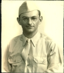 Uncle Max in the U.S. Army Quartermaster  Corps