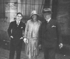 Henry Cassel  with his parents, Olga (Midas) Cassel and Adolph Cassel. Olga was a sister of Bill's maternal grandfather, Lothar Midas.