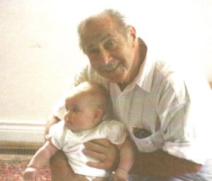 Henry with granddaughter Erin