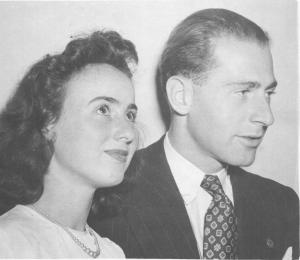Henry Cassel with his first wife, Reta