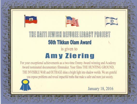 Tikkun Olam Award 56